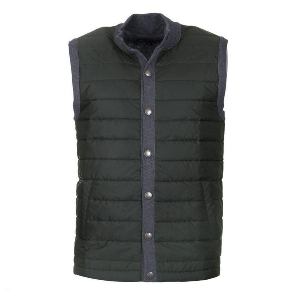 Barbour Essential Baffle Gilet Charcoal