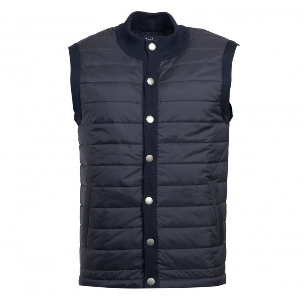 Barbour Essential Baffle Gilet New Midnight