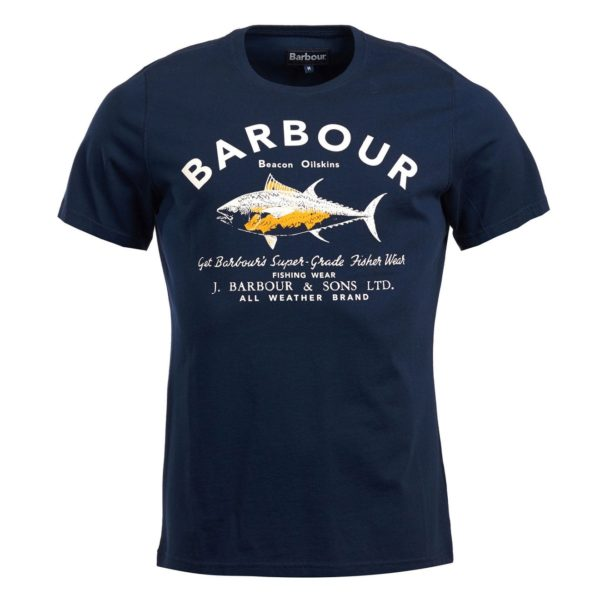 Barbour Fish Country T-Shirt Navy