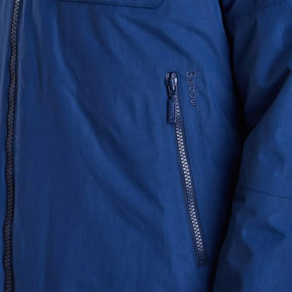 Barbour Harlech Jacket Inky Blue