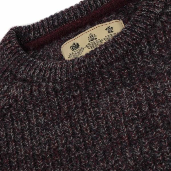 Barbour Horseford Crew Knitwear Merlot
