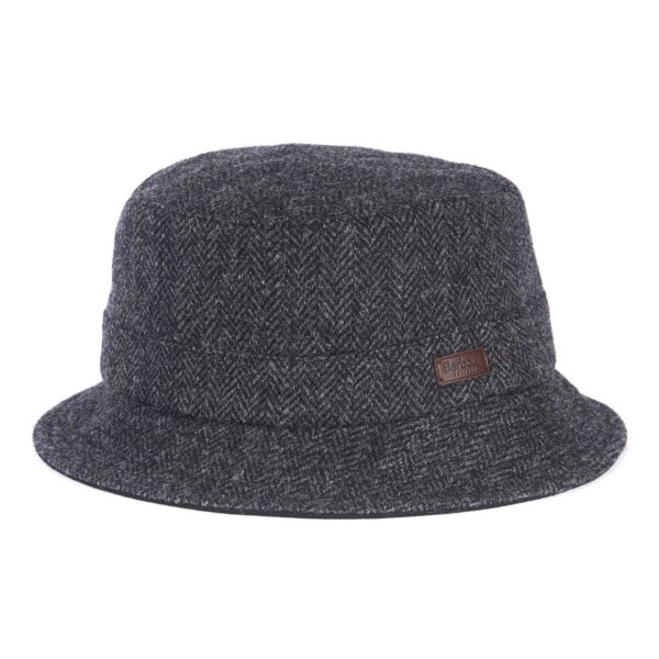Barbour Romeldale Sports Hat Black Herringbone