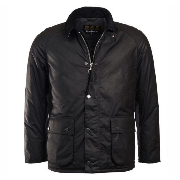 Barbour Strathyre Wax Jacket Black