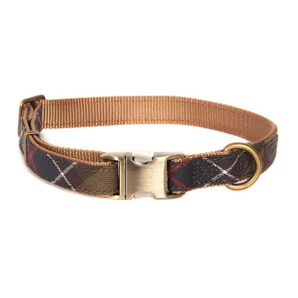 Barbour Tartan Webbing Collar Classic