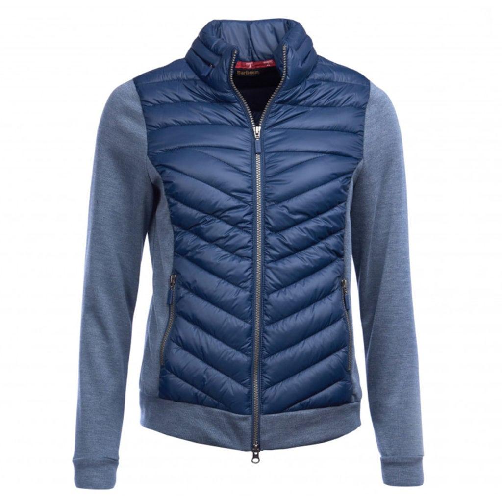 Barbour Womens Exmouth Sweatshirt Navy/Navy Marl