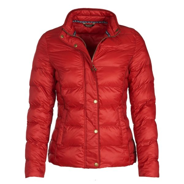 Barbour Womens Gondola Quilted Jacket Chilli Red