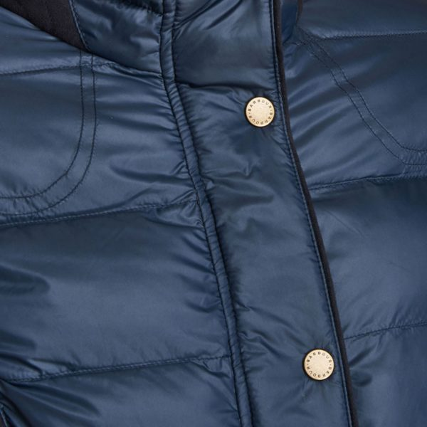 Barbour Womens Gondola Quilted Jacket Navy