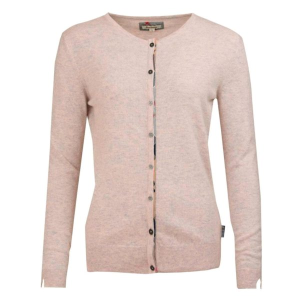 Barbour Womens Pendle Cardigan Blush PinkBarbour Womens Pendle Cardigan Blush Pink