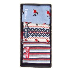 Barbour Womens Robin 3 Pack Socks
