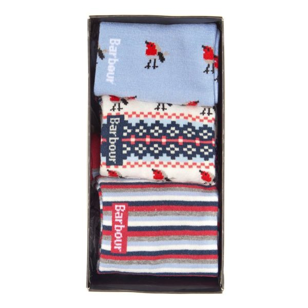 Barbour Womens Robin 3 Pack Socks