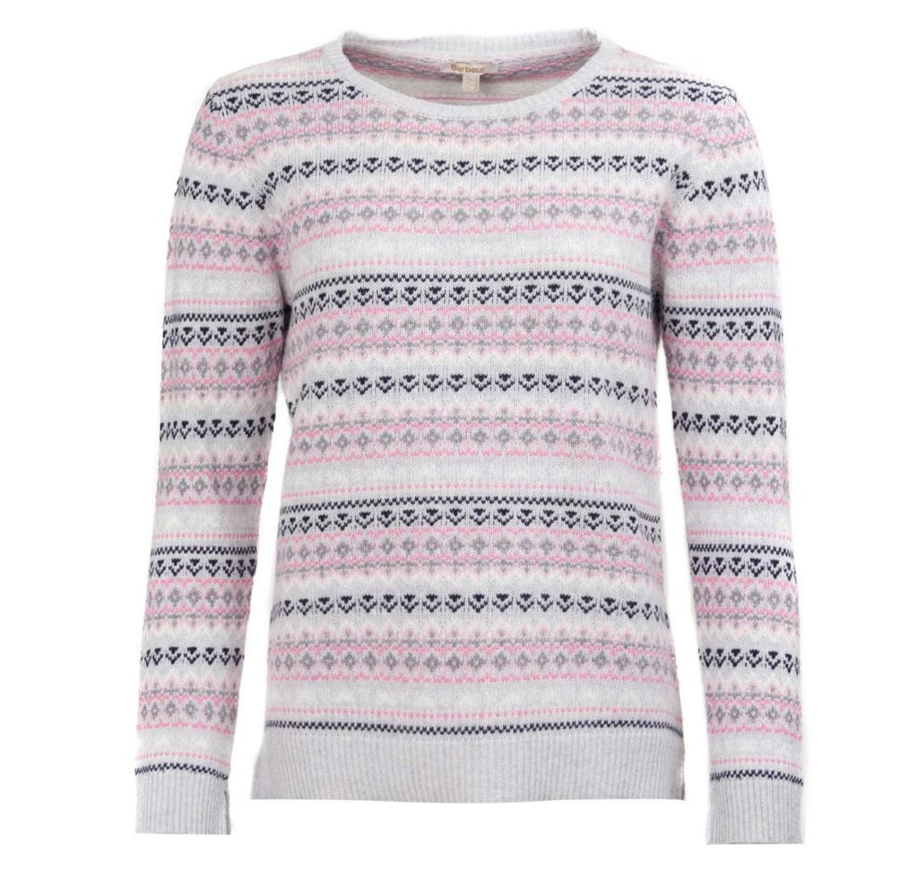 Barbour Womens Roseberry Knitwear Blush Pink