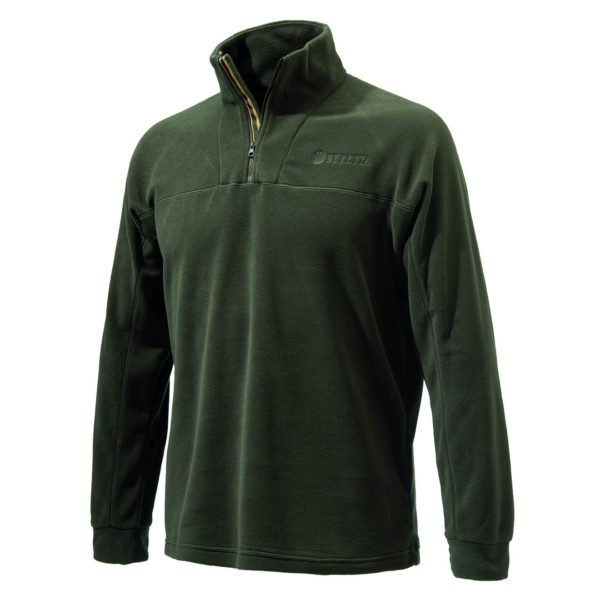 Beretta Half Zip Fleece Green