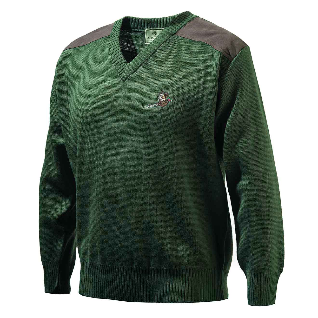 Beretta V-Neck Pheasant Sweater