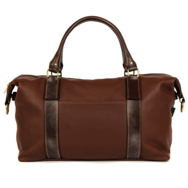 Brady Captains Holdall Chestnut Leather