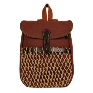 Brady Rowan Backpack with Natural Net Rust