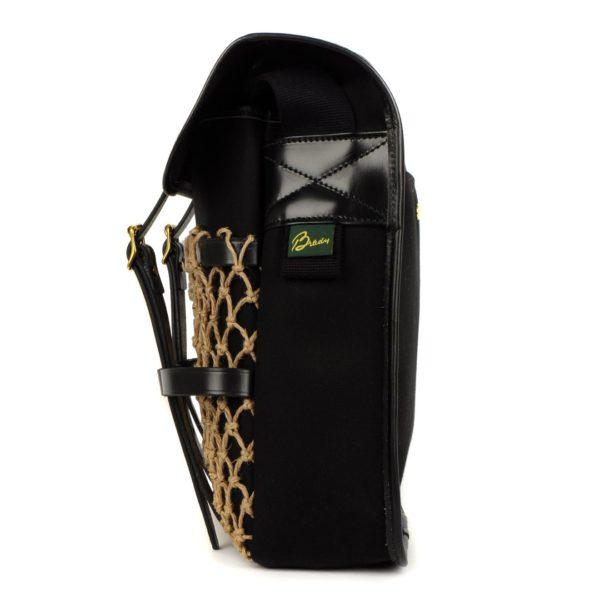 Brady Sutherland Bag With Net Black