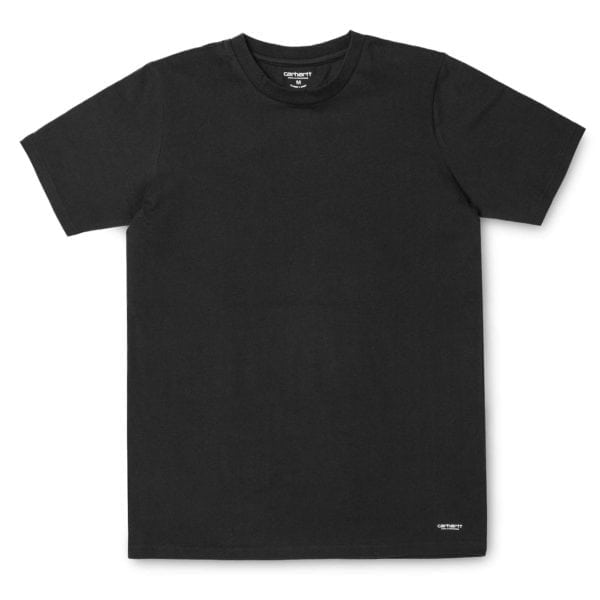 Carhartt Crew Neck T-Shirt 2-Pack Black and Black
