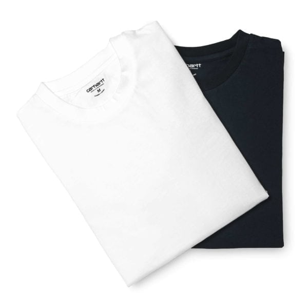 Carhartt Crew Neck T-Shirt 2-Pack White and Navy