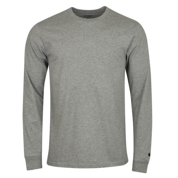 Carhartt L/S Base T-Shirt Grey Heather / Black