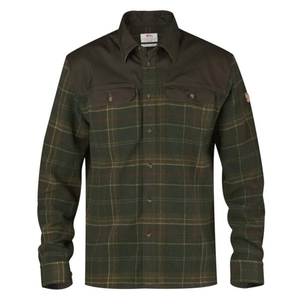 Fjallraven Granit Shirt Green