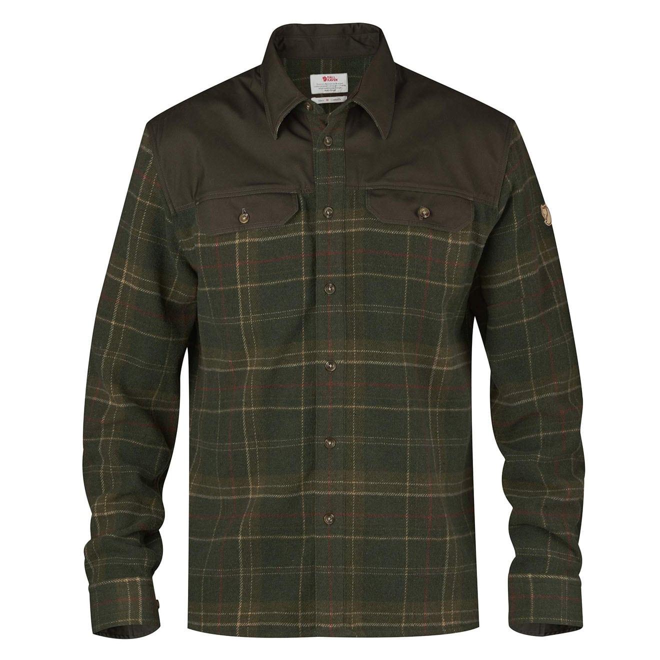 Fjallraven Granit Shirt Green