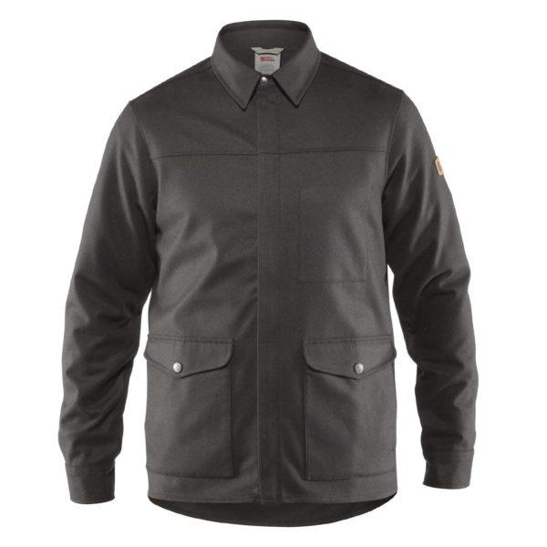 Fjallraven Greenland Re-Wool Shirt Jacket Grey