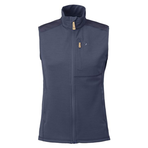 Fjallraven Keb Fleece Vest Storm/Night Sky