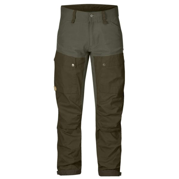 Fjallraven Keb Trousers Regular Deep Forest/Laurel Green