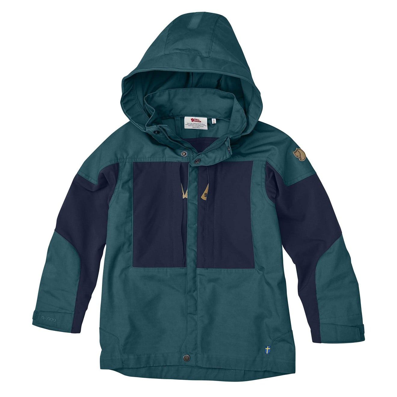 najlepiej kochany nowy wygląd Nowa lista Fjallraven Kids Keb Jacket Glacier Green / Dark Navy