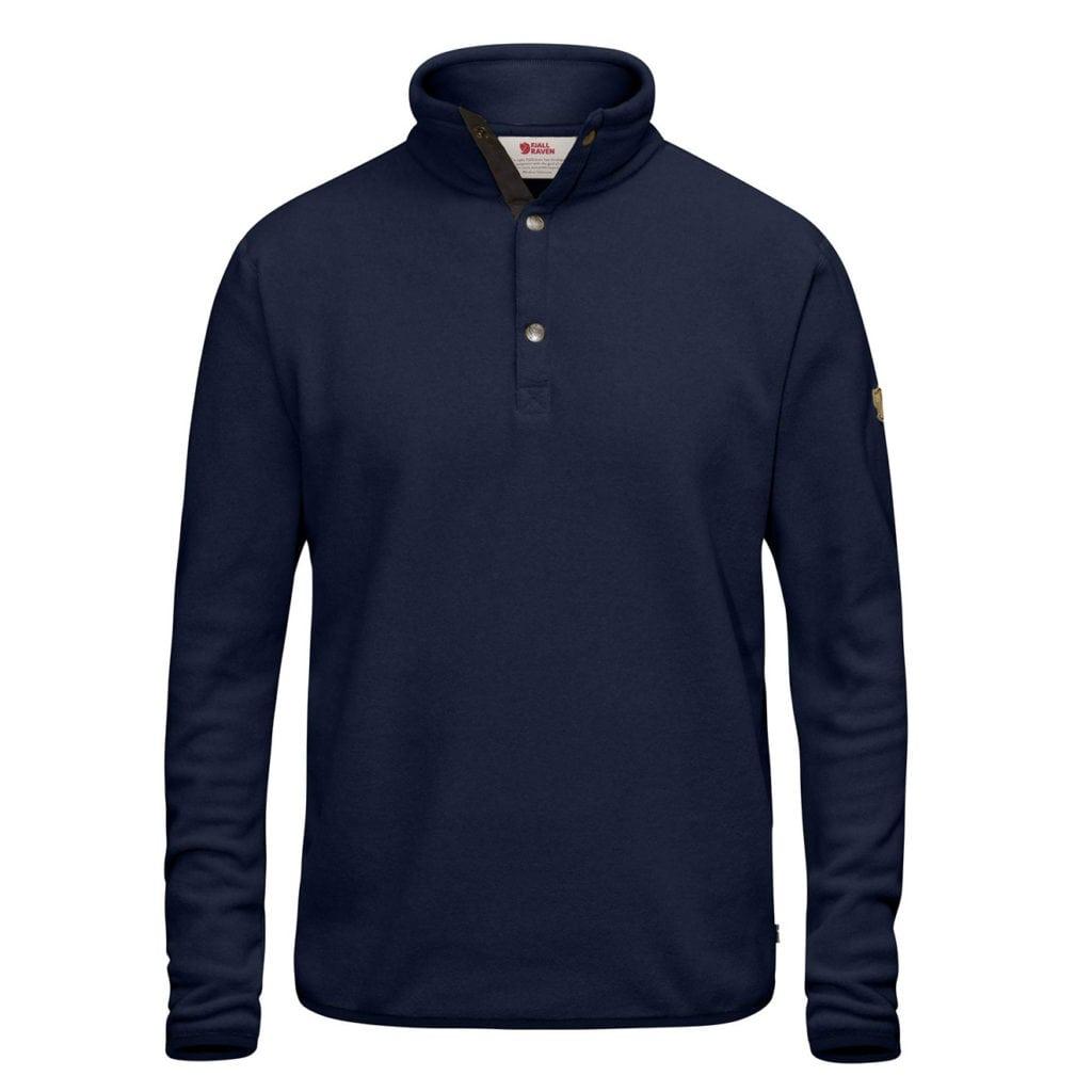 Fjallraven Ovik Fleece Sweater Dark Navy