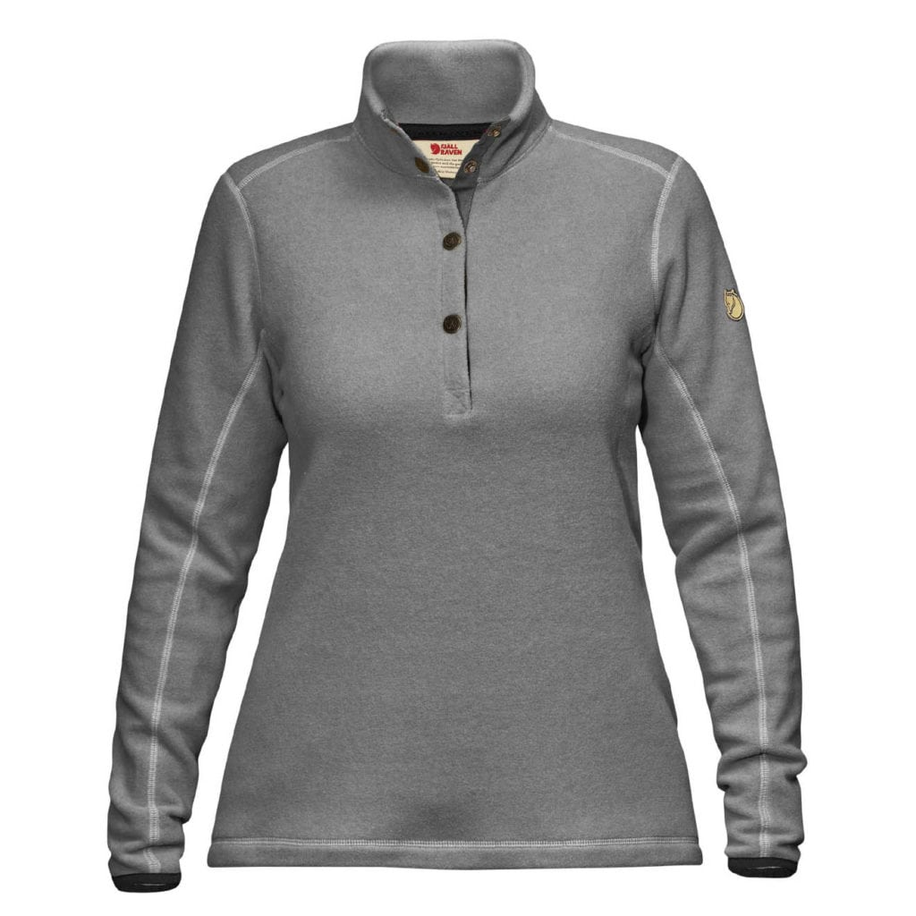 Fjallraven Womens Ovik Fleece Sweater Grey