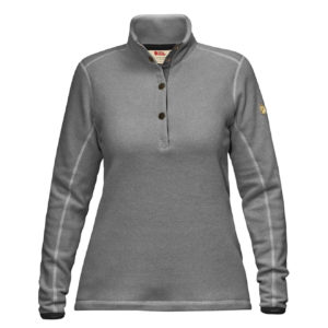 Fjallraven Womens Ovik Fleece Sweater Grey