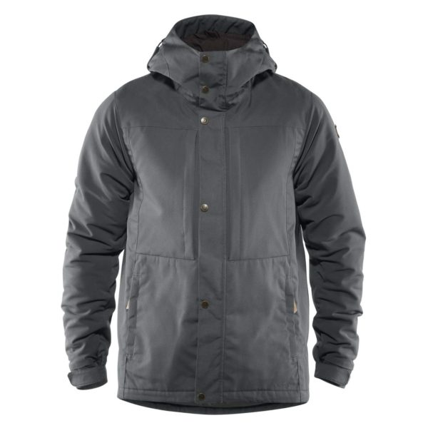 Fjallraven Ovik Stretch Padded Jacket Thunder Grey