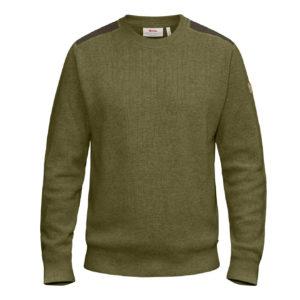 Fjallraven Sormland Crew Sweater Dark Olive