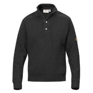 Fjallraven Varmland T-Neck Sweater Dark Grey