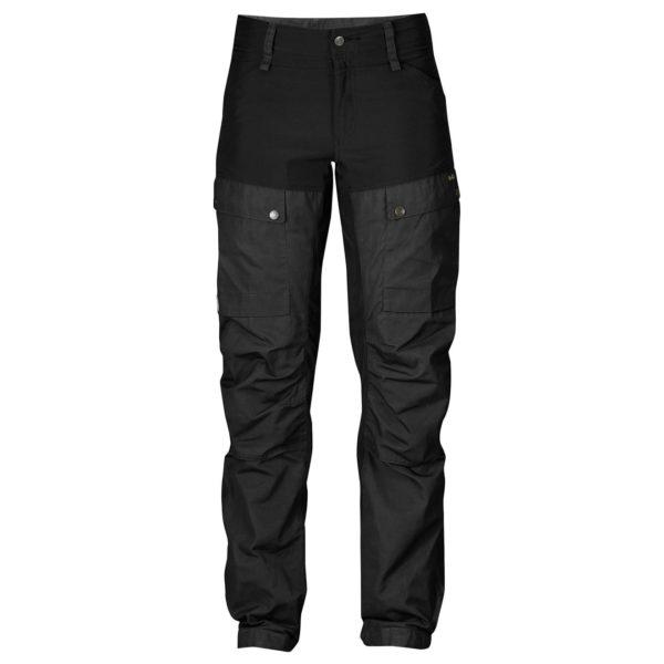 Fjallraven Womens Keb Curved Trousers Black