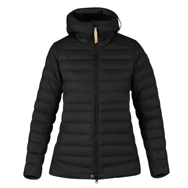 Fjallraven Womens Keb Touring Down Jacket Black