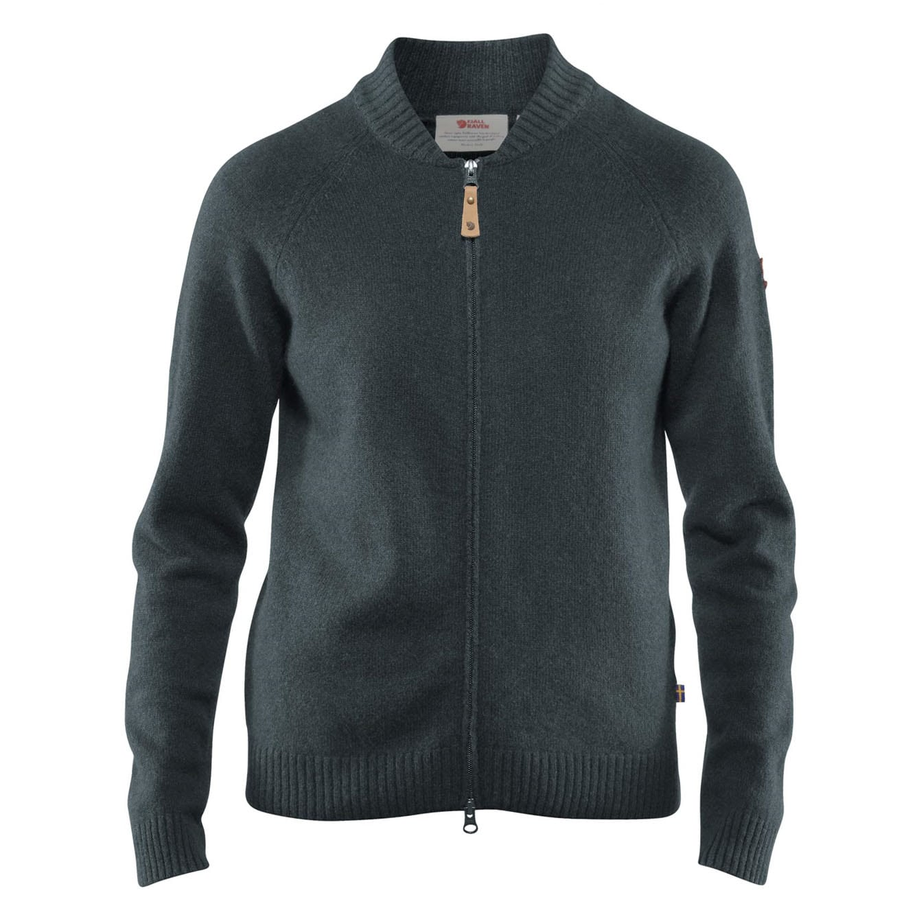 Fjallraven Womens Ovik Re-Wool Zip Jacket Dusk