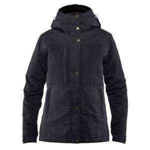 Fjallraven Womens Ovik Stretch Padded Jacket Black