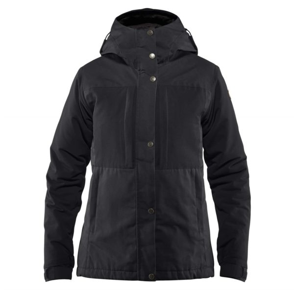 Fjallraven Womens Ovik Stretch Padded Jacket Black