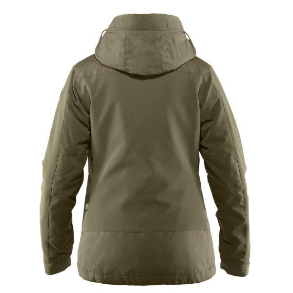 Fjallraven Womens Ovik Stretch Padded Jacket Laurel Green
