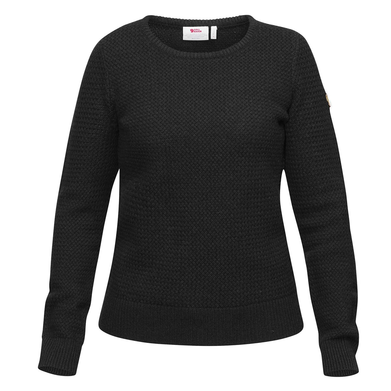 Fjallraven Womens Ovik Structure Sweater Dark Grey
