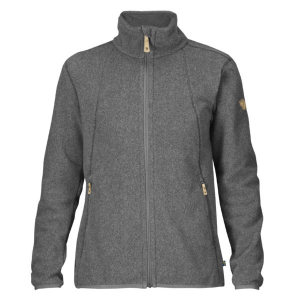 Fjallraven Womens Stina Fleece Dark Grey