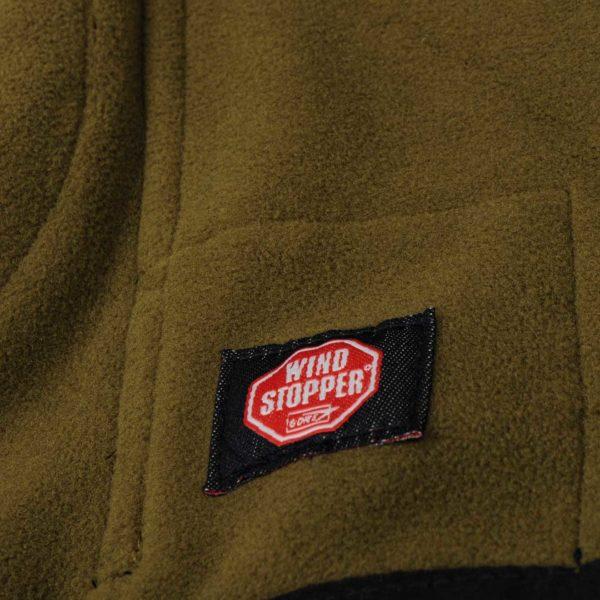 Harkila Kamko Sporting Fleece Jacket Dark Navy Highland Green