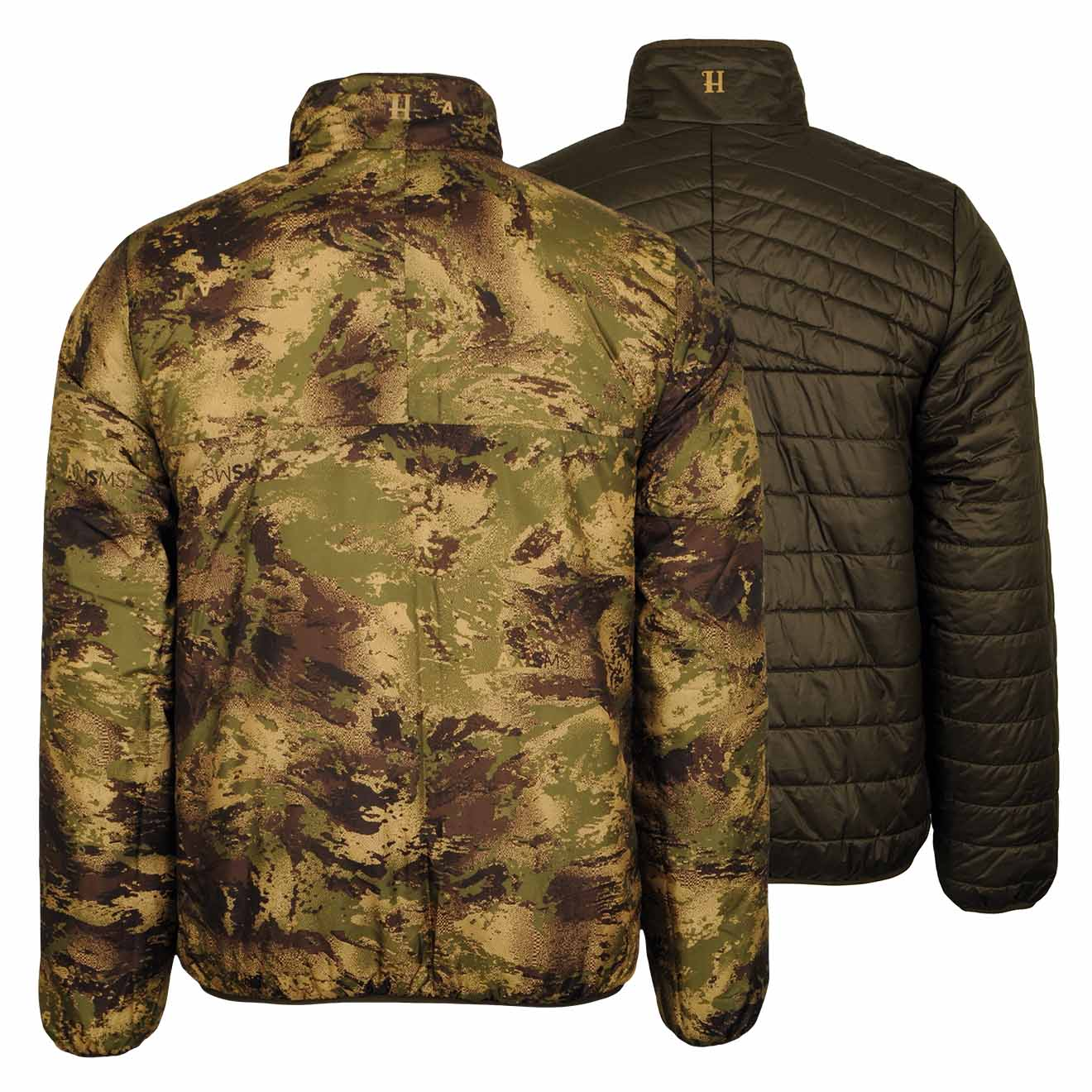Harkila Lynx Insulated Reversible Jacket Willow Forest Green Shooting Hunting