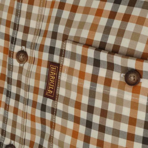 Harkila Milford Shirt Spice Check