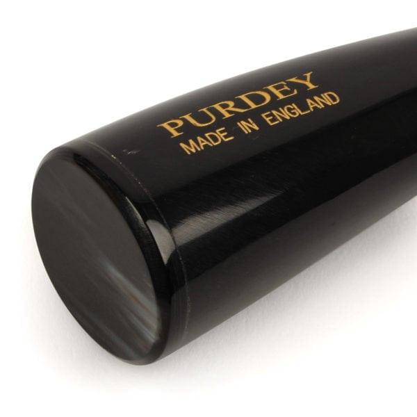 James Purdey Paper Knife Dark Ox Horn