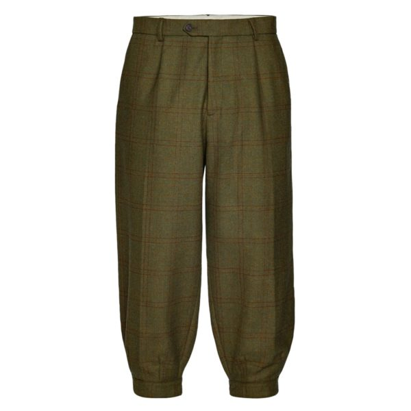 James Purdey Single Pleat Technical Tweed Breeks Bembridge