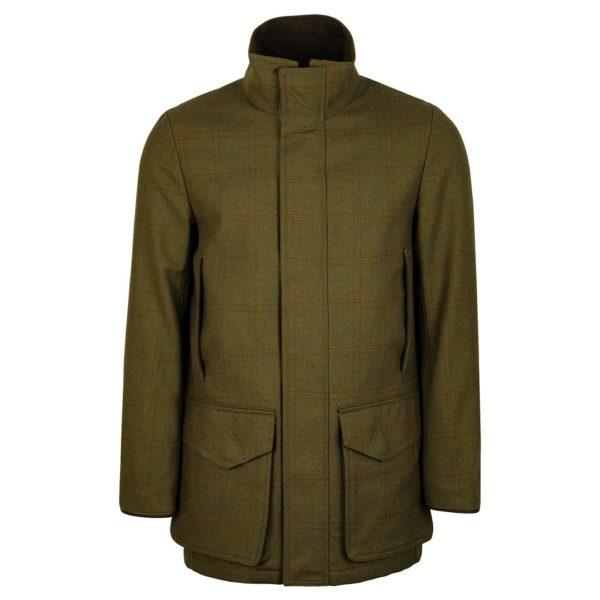 James Purdey Technical Tweed Field Coat Bembridge