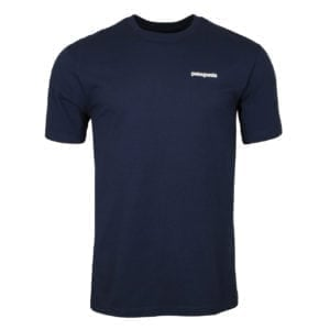 Patagonia Fitz Roy Trout Responsibili-Tee Classic Navy